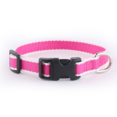 Pink Bamboo Puppy Dog Collar