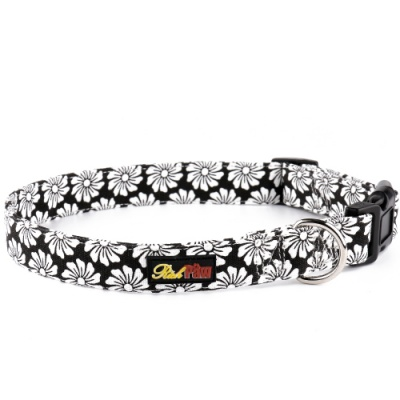 Black Canvas Dog Collar