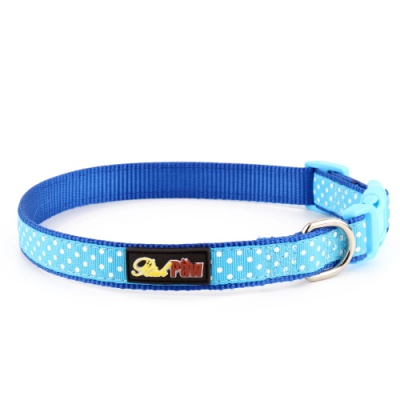 Blue Spotti Dog Collar