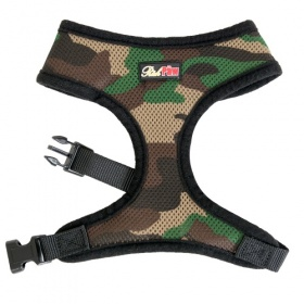 Camo Mesh Dog Harness