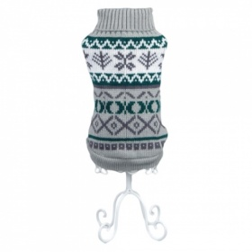 Grey Norwegian Dog Sweater
