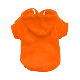 Orange Dog Hoodie