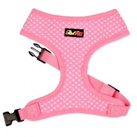 Pink Spotti Dog Harness