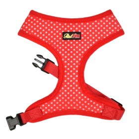 Red Spotti Dog Harness