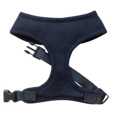 Black Mesh Dog Harness