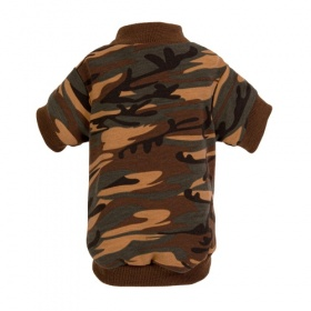 Brown Camo Dog Sweatshirt