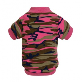 Pink Camo Dog Sweatshirt