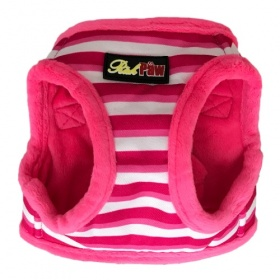 Pink Stripe Dog Harness
