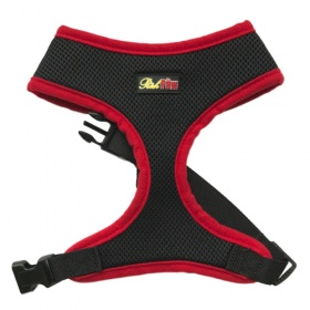 Red Sports Dog Harness