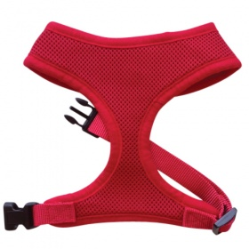 Red Mesh Dog Harness