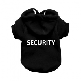 Security Black Dog Hoodie